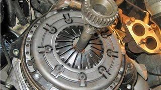 Зняття механічною КПП, заміна зчеплення Volkswagen Passat B5