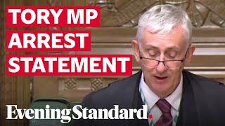 Tory MP arrest: Speaker of House gives statement on MP arrested on suspicion of rape