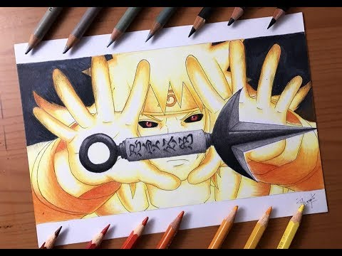 Speed Drawing - Minato Tail Beast Mode (Naruto Shippuden) [HD]
