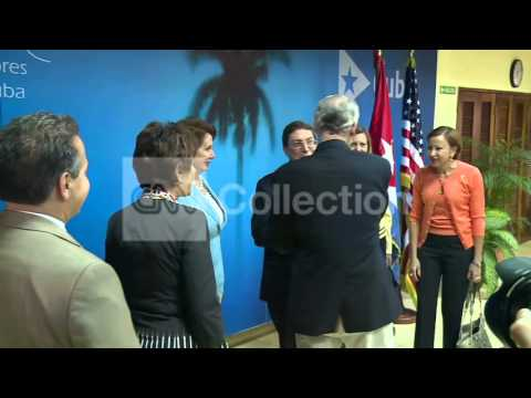 US CONGRESSIONAL DELEGATION MEET CUBAN OFFICIALS