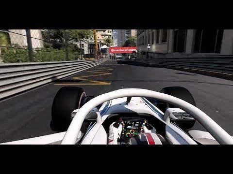 F1 2018 Gameplay - PS4, Xbox One - Charles Leclerc Monaco Gameplay UK