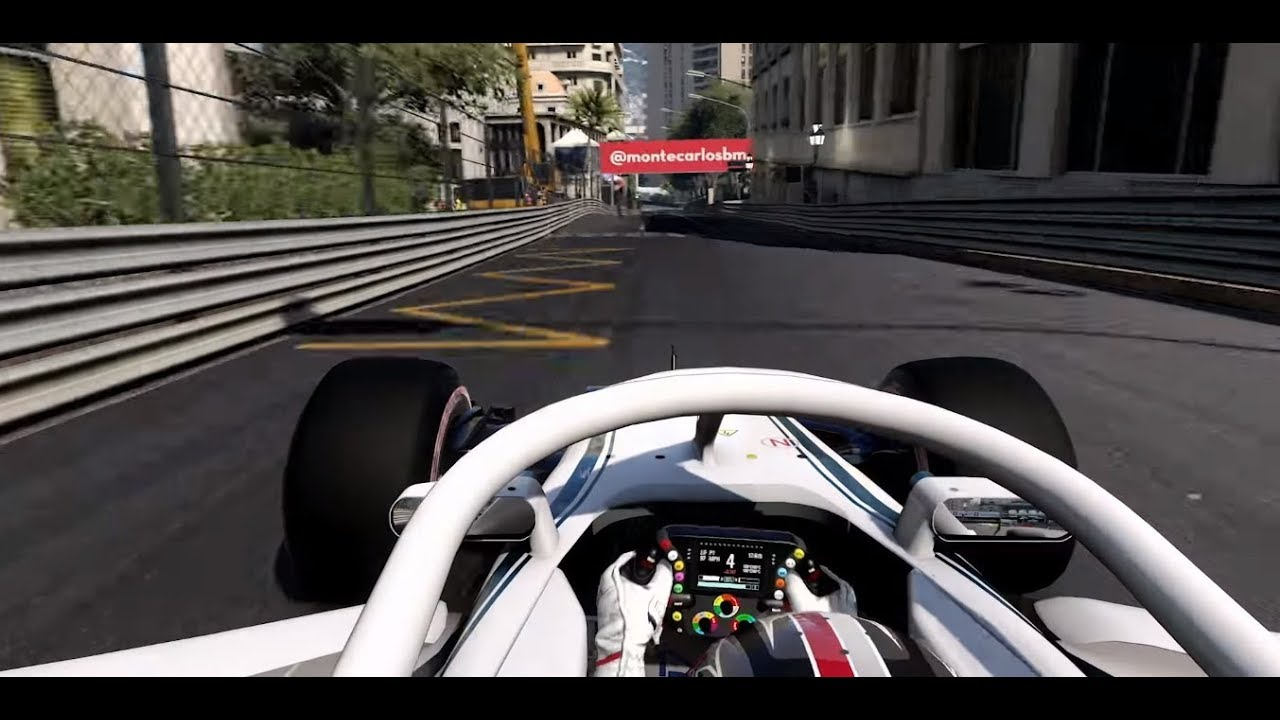 f1 2018 gameplay ps4 xbox one charles leclerc monaco gameplay uk youtube. Black Bedroom Furniture Sets. Home Design Ideas