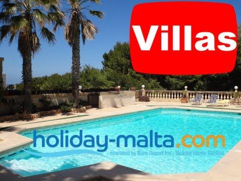 Villa holidays in Malta, Mellieha 3 bedroom villas with a pool to rent (Rental 209)