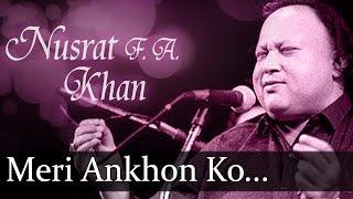 meri ankhon ko ankhon ka nusrat fateh ali khan top ghazal songs