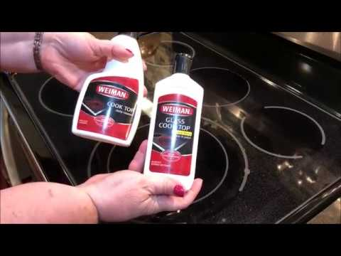Cleaning Glass Stove Top