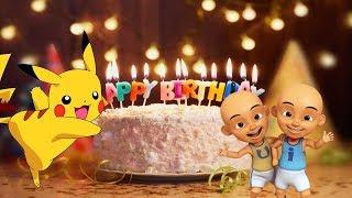 Lagu Anak Selamat Ulang Tahun Upin Ipin Tayo Pokemon Pikachu
