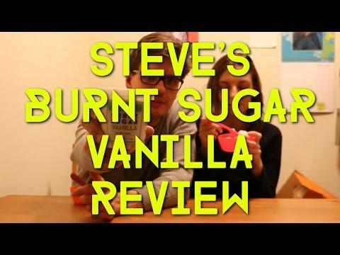Steve's Ice Cream Burnt Sugar Vanilla Review