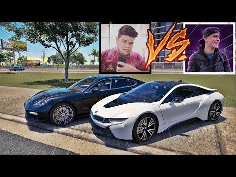 BMW I8 DO JON VLOGS VS PORSCHE PANAMERA DO EDUKOF - FORZA HORIZON 3