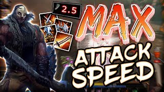 Download lagu Smite Max Attack Speed Chaac Build You ve NEVER Seen Chaac Swing so FAST MP3