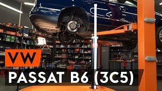 Montaż Amortyzatory VW PASSAT Variant (3C5): darmowe wideo
