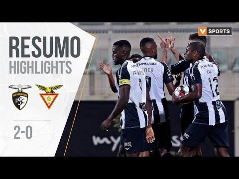 Portimonense Aves Goals And Highlights