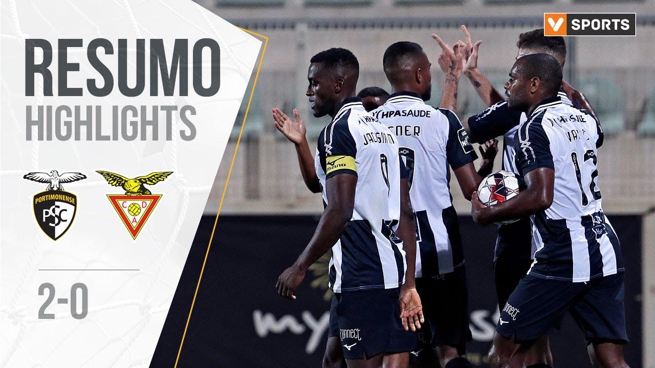 Портимоненси  2-0  Авеш видео