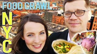 NYC FOOD CRAWL! | Parents Night Out
