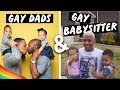 Wife Swap's Gay Dads hire Gay babysitter (me) for a day 🥴 | Tarek Ali ft. Terrell & Jarius