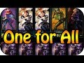 League of Legends One for All - 5 Lux vs 5 Talon | Highlights