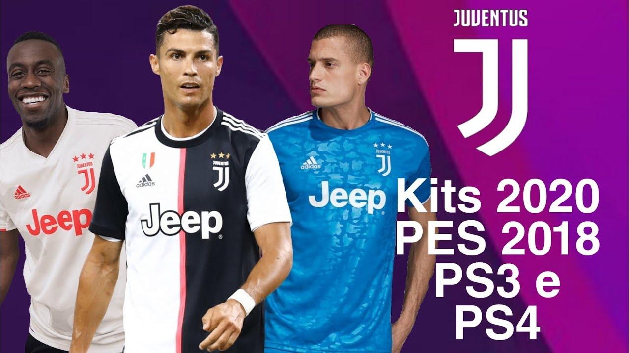 Juventus kits 2020 PES 2018 PS3 e PS4 #1