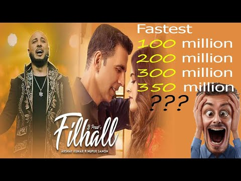 Filhall 24/7 | Akshay Kumar | New Fastest Record | 350 million World Record | Live B Praak