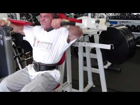 ORIGINAL MEDX AVENGER SHOULDER LATERAL RAISE