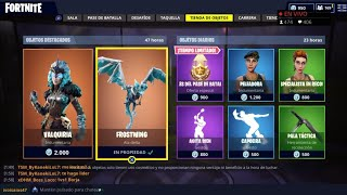 THE *NEW STORE* OF FORTNITE TODAY SEPTEMBER 21: NEW LEGENDARY SKIN *VALQUIRIA*
