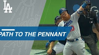 Dodgers' path to the National League pennant