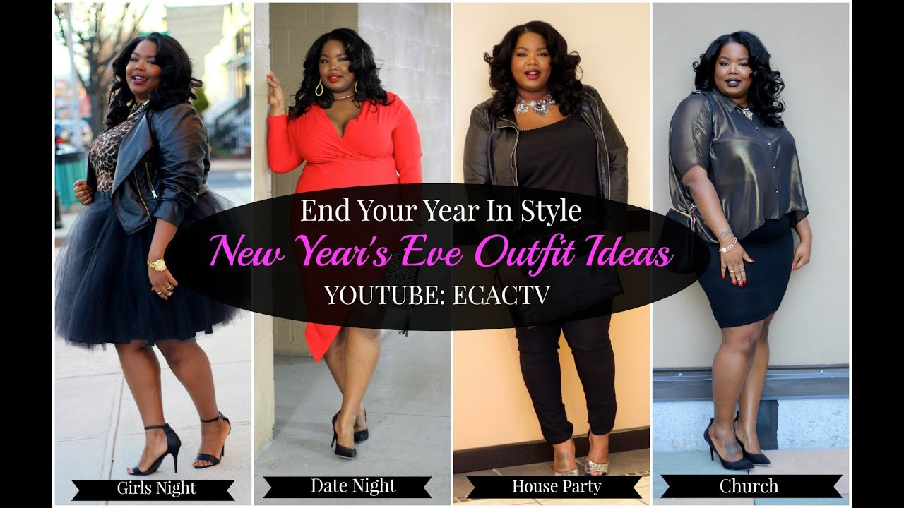 d2e625c512ec New Year's Eve 2014 Lookbook ( Plus Size Fashion) - YouTube