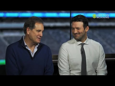 Jim Nantz And Tony Romo To Be On CBS This Morning