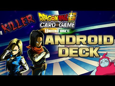 BEST ANDROID DECK (DRAGON BALL SUPER CARD GAME)