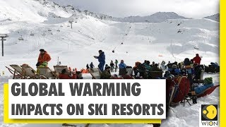 Global warming impacts ski resorts in France | Wion news | World News
