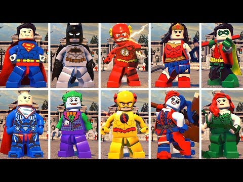 All Character in LEGO DC SuperVillains