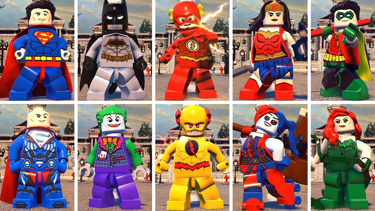 All Character in LEGO DC Super-Villains - YouTube