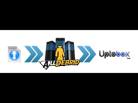 convert torrent to uptobox & links to premium ones using Alldebrid