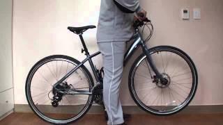 自転車 サイズ選び クロスバイク GT TRAFFIC 3.0 GT トラフィック3.0