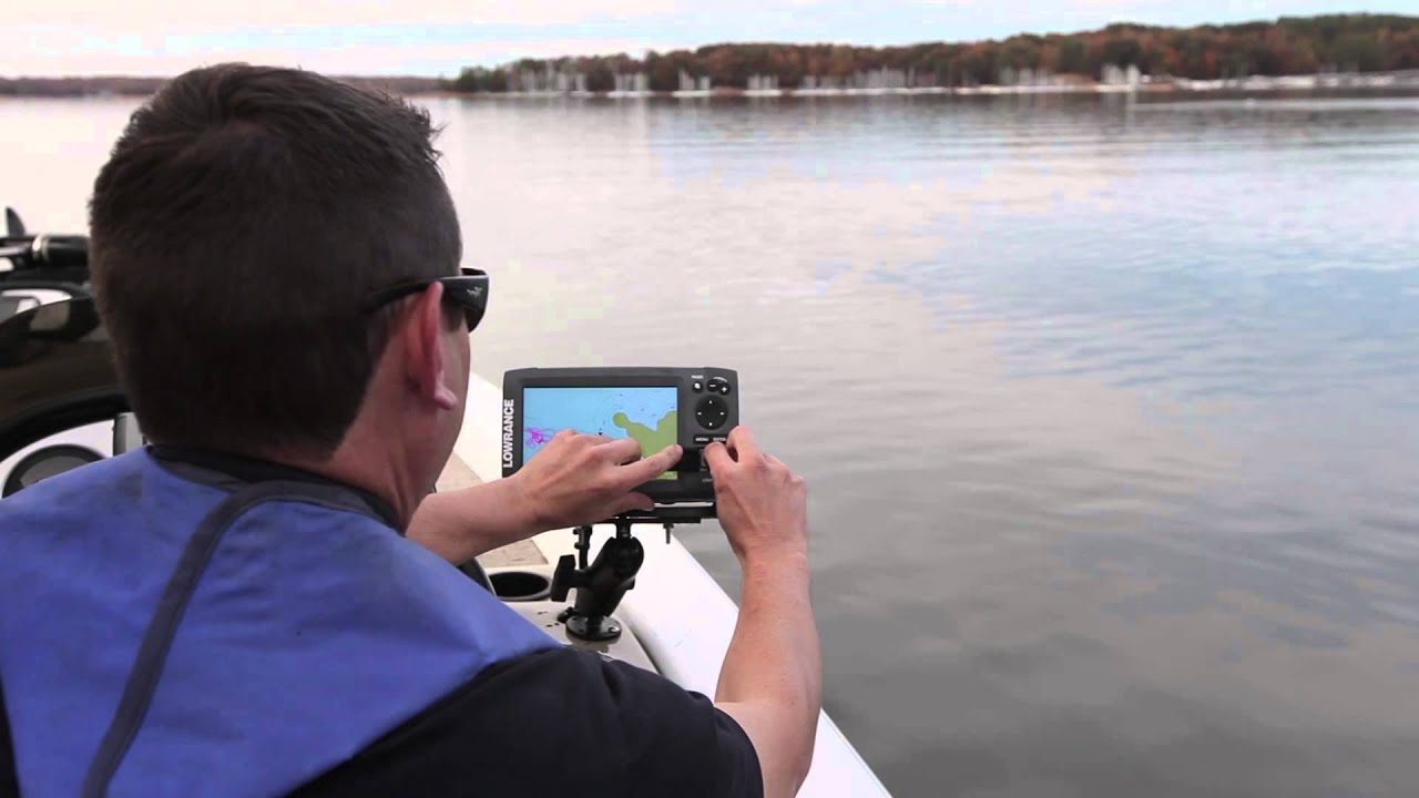 lowrance elite-7 hdi - youtube, Fish Finder