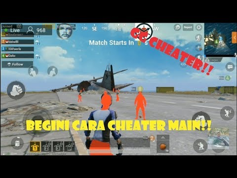 download BEGINI CARA KERJA CHEAT PUBG MOBILE DARI CHEATER LIVE STREAMING!!!