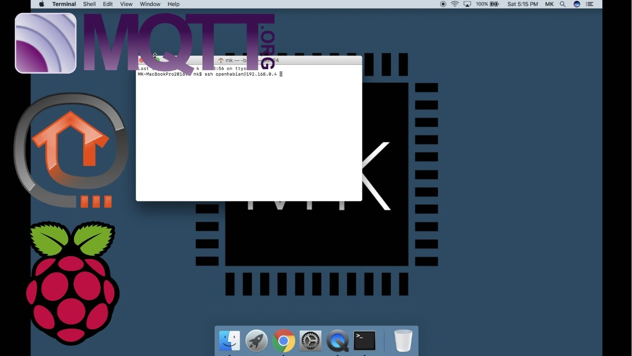 Complete Guide Setting Up The Home Automation Server (OpenHAB 2 + MQTT):  Software MAC
