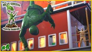 Tren yolculuğu I The Mean Greens Plastic Warfare I 4. Bölüm
