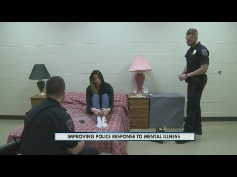 Improving police response to mental illness