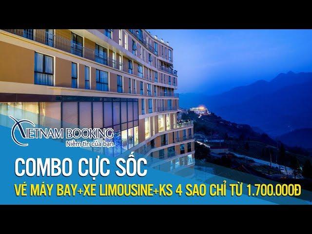 Vietnam Booking  Combo du lịch Sapa - Ưu đãi Khách sạn Amazing Sapa chỉ 1.700K