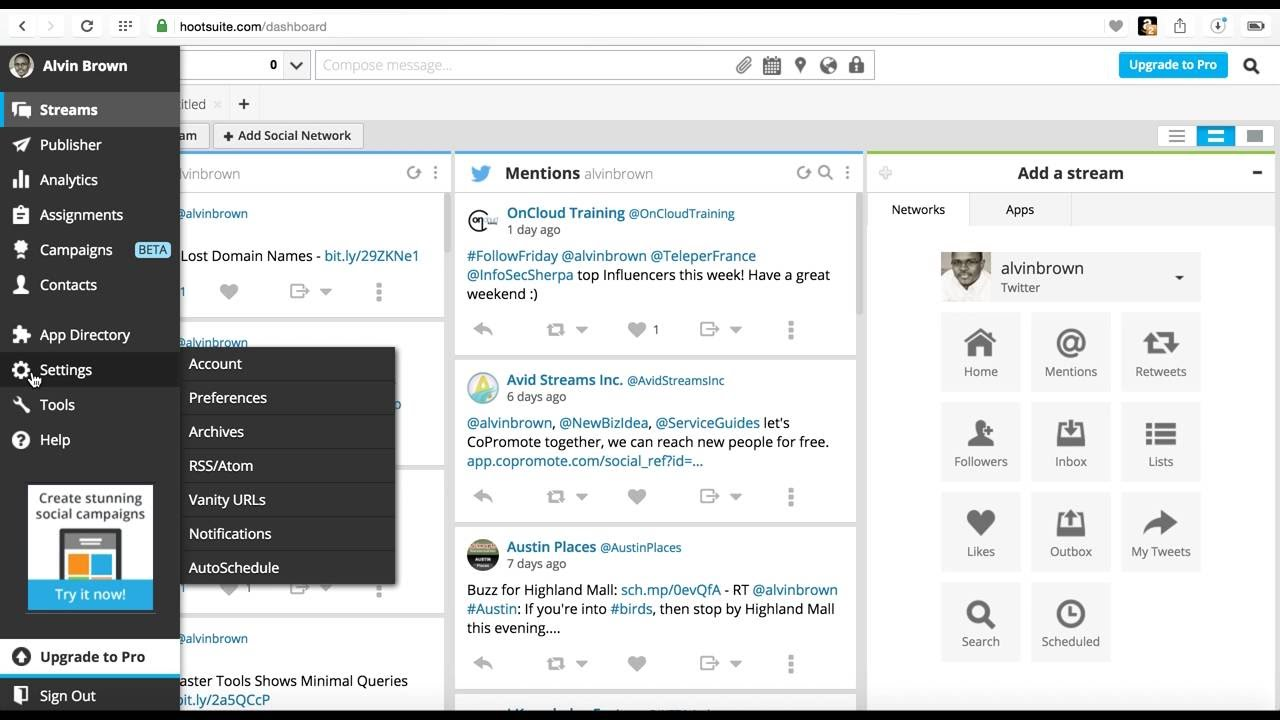 WordPress & Hootsuite: Share and Auto Publish Posts to Social ...