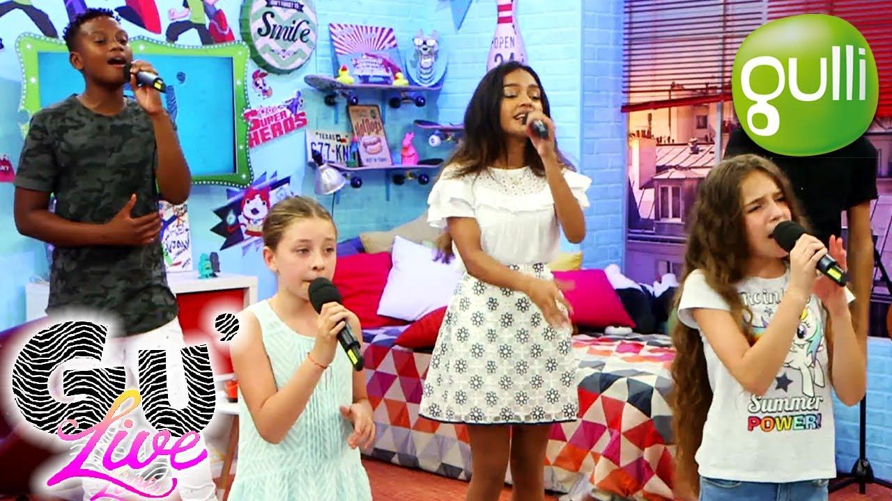 Download GU'LIVE : les KIDS UNITED chantent MAMA AFRICA ! avec Joan à 13h30 sur Gulli !! Emission 12 Partie 3