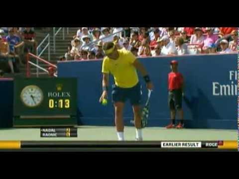 Rafael Nadal v Milos Raonic | Rogers Cup 2013