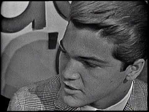 American Bandstand 1964- Interview Paul Peterson