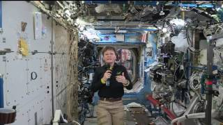 Space Station Crew Member Discusses Life in Space with Voice of America