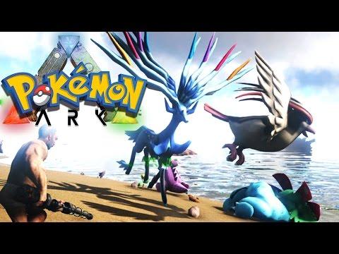 Pokémon MASSACRE | ARK Pokemon Mod Survival Evolved Part 1