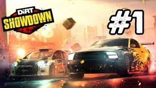 Dirt Showdown Walkthrough: Part 1 (Gameplay/Commentary) Xbox 360,PS3 PC