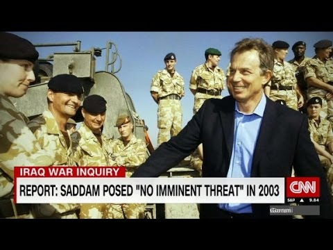 Chilcot inquiry slams Blair for Iraq war