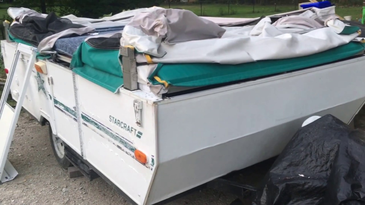 How to Rebuild and Repair a Water Damaged Pop-Up Camper Roof