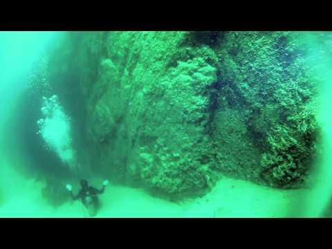 Underwater Sand Falls
