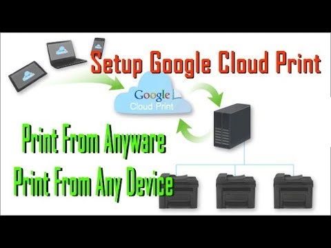 How To Set Up Your Printer With Google Cloud Print From Anywhere
