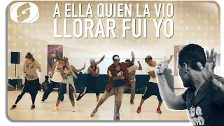 A ELLA QUIEN LA VIO LLORAR FUI YO - Salsation choreography by Alejandro Angulo